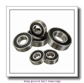 127 mm x 142,875 mm x 7,938 mm  KOYO KBC050 deep groove ball bearings