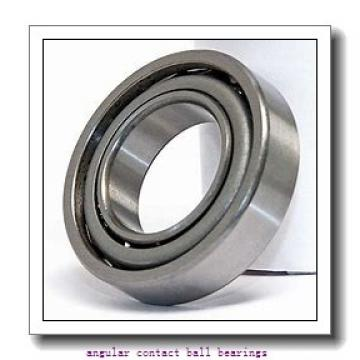 170 mm x 360 mm x 72 mm  ISO 7334 A angular contact ball bearings