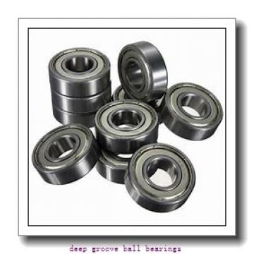 6 mm x 15 mm x 5 mm  NSK 696 deep groove ball bearings