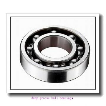 8 mm x 22 mm x 7 mm  SKF W 608-2Z deep groove ball bearings