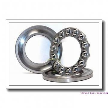 100 mm x 170 mm x 15 mm  FAG 52224 thrust ball bearings