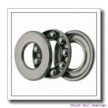 90 mm x 190 mm x 43 mm  SKF NU 318 ECP thrust ball bearings