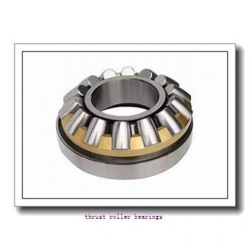 INA RCT39-A thrust roller bearings