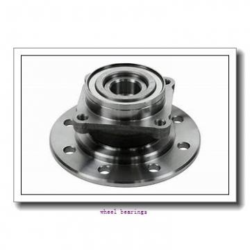 Toyana CX357 wheel bearings