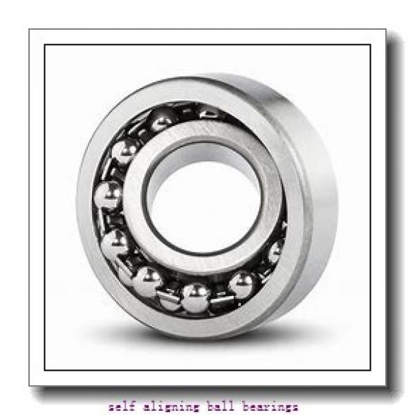 35 mm x 80 mm x 21 mm  NSK 1307 K self aligning ball bearings #2 image