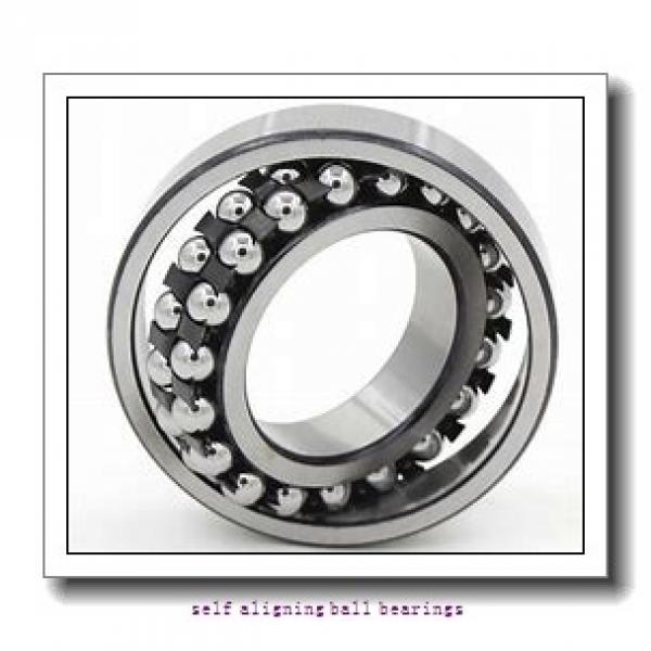 35 mm x 80 mm x 21 mm  NSK 1307 K self aligning ball bearings #3 image